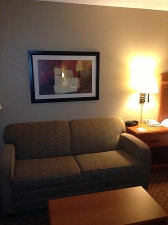 Hampton Inn Brookhaven: sofa