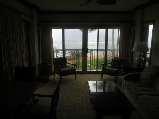 Waipouli Beach Resort: living room