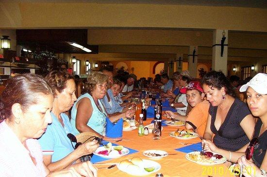 Hacienda Xaybe'h: zona restaurant