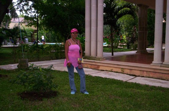 Hacienda Xaybe'h: jardines hacienda