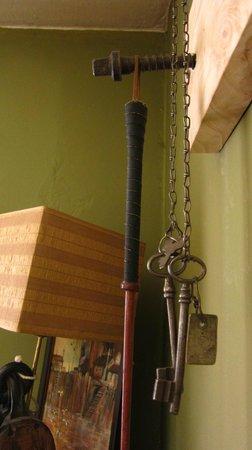 Equs Casa de Te Gales: Pequeños detalles en la casa de té Equs