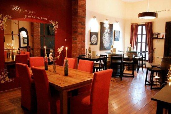 Vinos Van Eyck: Sala de degustacion de La Vinoteca Mexicana del Centro