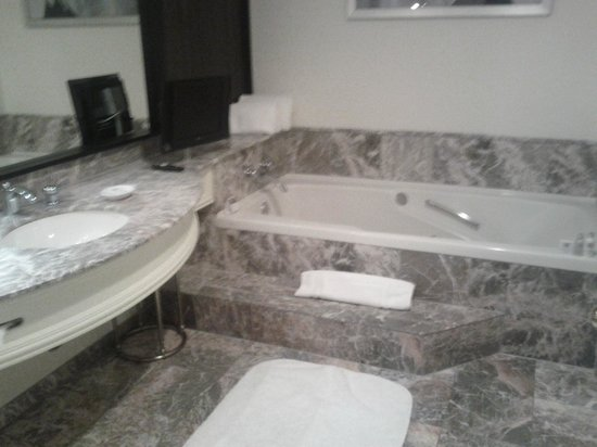 Loews Hotel Vogue: Jacuzzi :)