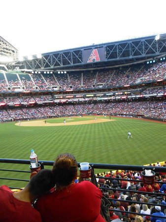 Chase Field: Good view everywhere