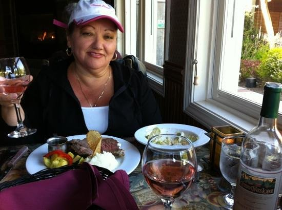 Cambria Pines Lodge: Dinner at Cambria Pines Restaurant