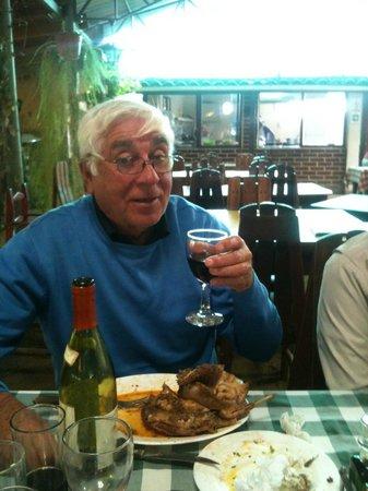 Olmue, Чили: Conejo Escabechado , Carmenere Emiliana
