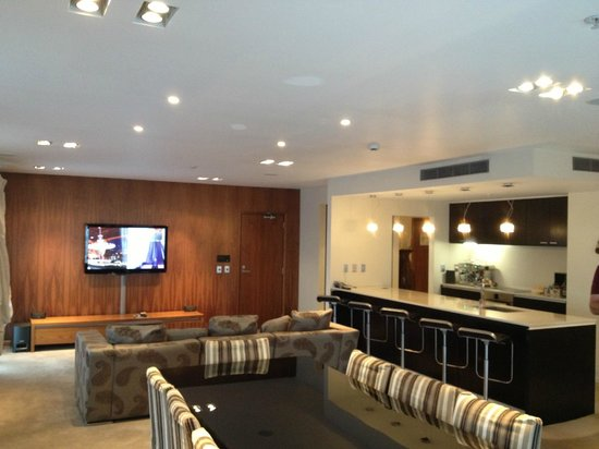 Main Living Room And Kitchen In The No 10 Penthouse Suite Picture