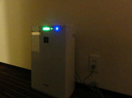Kawasaki Nikko Hotel: room purifier