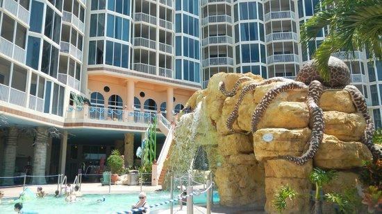 Pool Area Facing Main Resort
