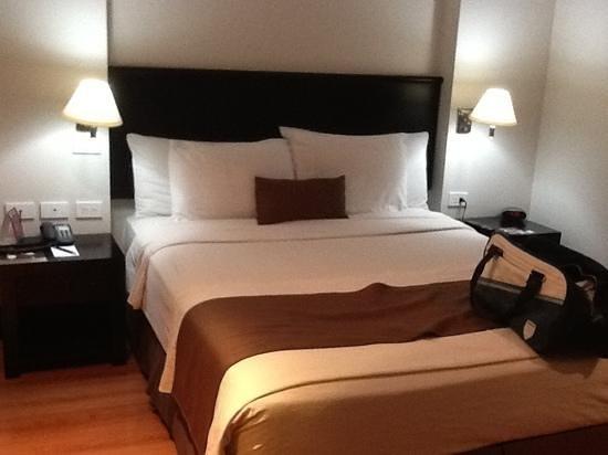 Lugano Hotel: una cama confortable