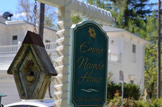 Emma Nevada House: Birdfeeders everywhere
