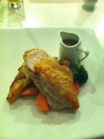 Crystal Mountain : yummy chicken main course