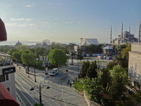 ‪‪Sultanahmet Hotel‬: View from terrace‬
