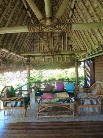 Nukubati Private Island : Our varanda
