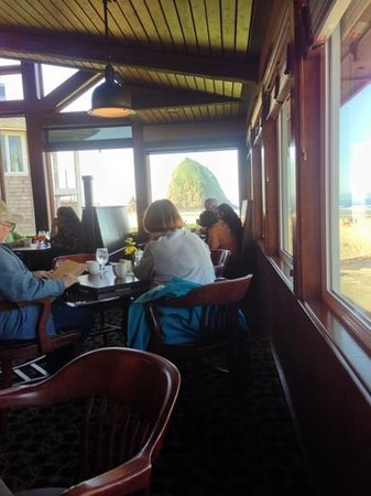 Wayfarer Restaurant: view of haystack