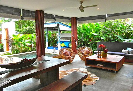 Pulau Boutique Villas: Lounge