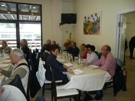 Tre Rose : Sala da pranzo