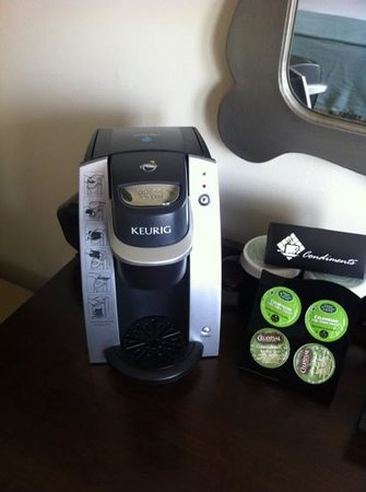 The Elms Hotel and Spa: I LOVE my Keurig!!