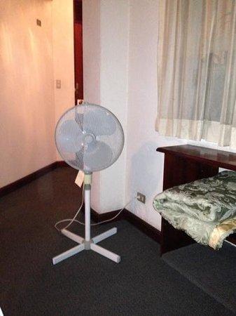 Suites Reforma Apart Hotel : habitaciones sin aire