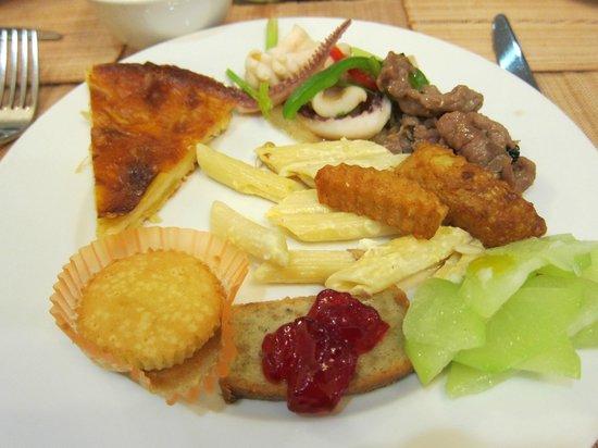 Golden Rice Hotel Hanoi: breakfast buffet