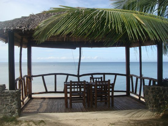 Michael's Resort and Dive: Beautyful dining and relax area