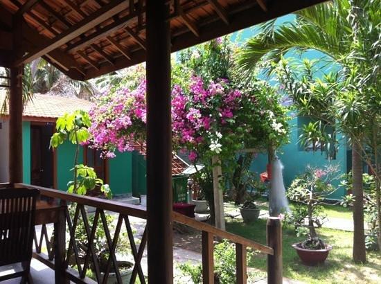 Hiep Hoa Resort: Blick von der Terrasse