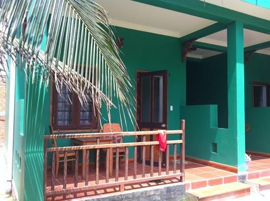 Hiep Hoa Resort: Blick aufs Zimmer