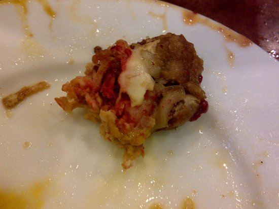 Pudong Kitchen: Deep-fried chicken with red blood