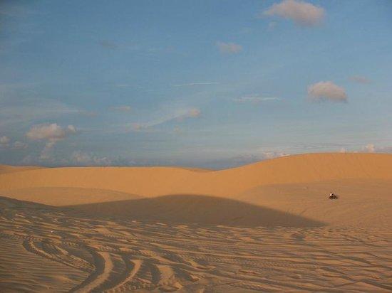 Palmira Beach Resort & Spa: белые дюны в 35 км от отеля