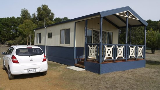 Western KI Caravan Park and Wildlife Reserve: Turned out to be a great unit