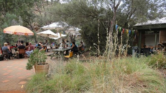 Bean Tree Cafe : Outdoor seating