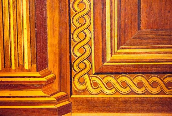 Palazzo Ducale Wood detail