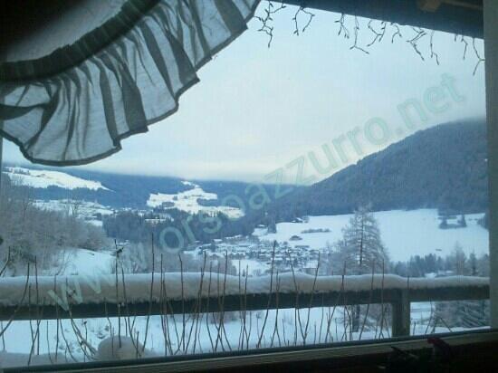 Bad Waldbrunn: veduta dalla sala fumatori