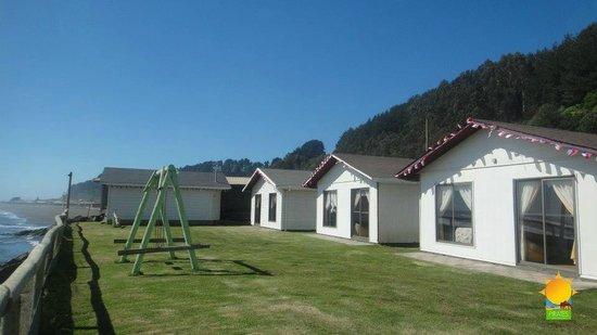 Curicó, Chile: Cabañas completamente equipadas,comodas sector tranquilo,recinto cerrado ,iloca 2da puntilla
