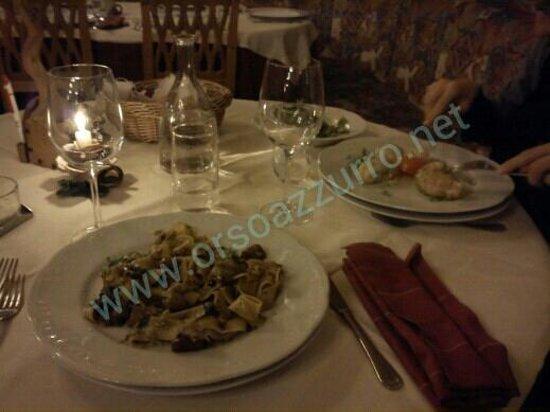 Bad Waldbrunn: cena...una delle portate....