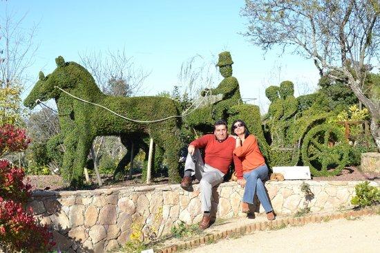 El bosque encantado parque tem tico san mart n de for El jardin encantado madrid