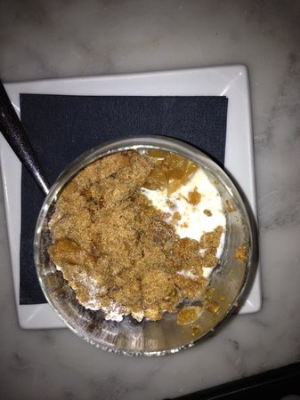 Eat 17 : The offending desert - more rubble than crumble on top