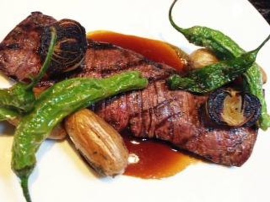 Broadway by Amar Santana: Grilled Marinated Prime Skirt Steak