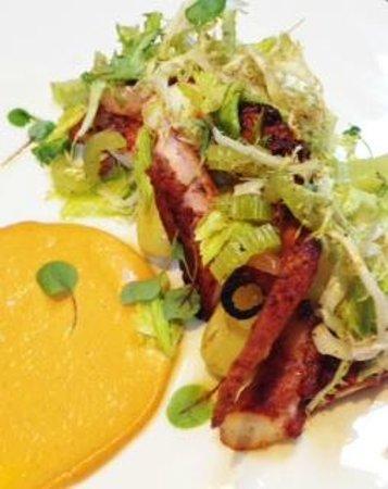Broadway by Amar Santana: Slow Braised Spanish Octopus a la Plancha