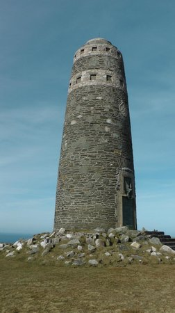 Swallow's Roost: American Monument, Mull of Oa