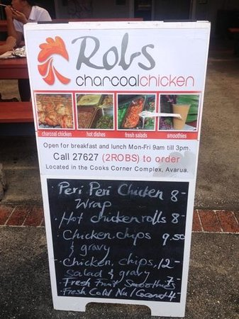 Rob's Charcoal Chickens : Chicken KING!!!