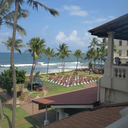 Galle Face Hotel Colombo: View of Garden