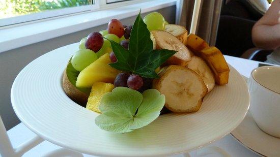 Hillsfield House Bed and Breakfast Marlborough: fresh fruit