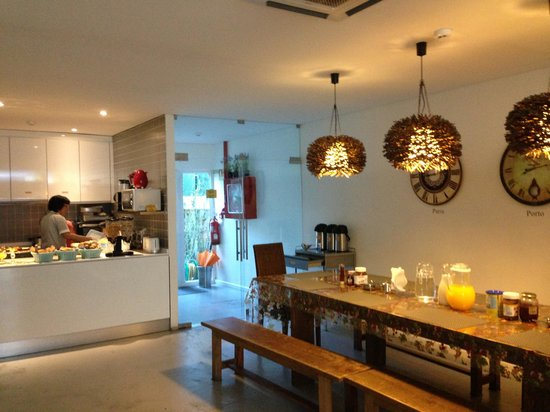 Gallery Hostel: Fresh breakfast