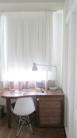 Hotel Metropolis: Γραφείο στο δωμάτιο executive