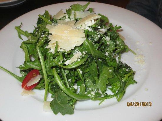 Treva: arugula salad