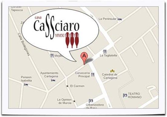 Casa Cassciaro : CASSA CASSCIARO STREET MAP