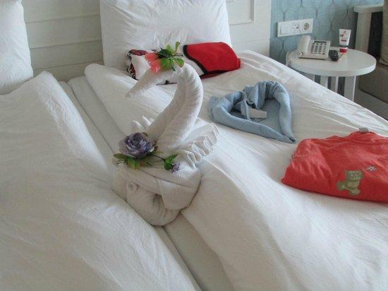 Trendy Verbena Beach Hotel: Täglich eine nette Überraschung
