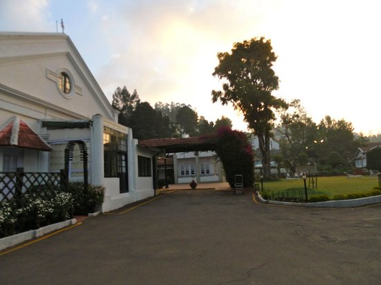 Taj Savoy Hotel, Ooty: reception