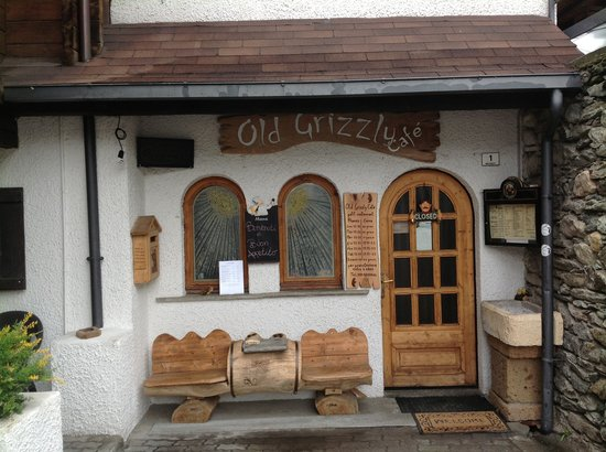 Old Grizzly Cafe: Ingresso
